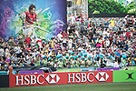 Wales vs Japan during their Pool C match as part of the HSBC Hong Kong Rugby Sevens 2017 on 08 April 2017 in Hong Kong Stadium, Hong Kong, China. Photo by Chris Wong / Power Sport Images