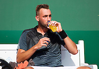 Netherlands, The Hague, Juli 21, 2015, Tennis,  Sport1 Open, Thomas Schoorel  (NED) <br /> Photo: Tennisimages/Henk Koster