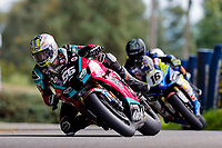 11th September 2021; Cookstown, County Tyrone, Northern Ireland, Cookstown 100 Road Races: Adam McLean leads Mike Browne during the Superbike race