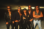 Various portraits & live photographs of the rock band,  Scorpions
