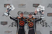 #74 Compass Racing, Audi RS3 LMS TCR, TCR: Rodrigo Sales, Kuno Wittmer, podium