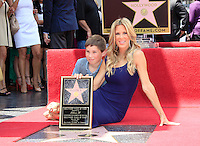 Ellen K is honored with the 2471st star on the Hollywood Walk of Fame. Los Angeles, California on 10.05.2012. PICTURED: Ellen K, son Calvin..Credit: Martin Smith/face to face /MediaPunch Inc. ***FOR USA ONLY***