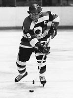 Yvan Joly Ottawa 67's 1978. Photo Scott Grant