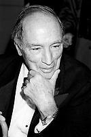 October 30, 1987 File Photo - Pierre Eliott Trudeau