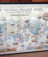 BNPS.co.uk (01202 558833)<br /> Pic: DominicWinter/BNPS<br /> <br /> It's Wokopoly..<br /> <br /> A rare Victorian board game celebrating the might of the British Empire has emerged for sale - and it is sure to trigger the woke brigade.<br /> <br /> The World Map Board Game was produced in the aftermath of the successful World Exhibition held at Crystal Palace in 1851 to help Brits learn more about its 80-odd foreign territories.<br /> <br /> These are referred to as Britain's 'possessions' and there are images of tiger-hunting in India and Australian aborigines.