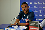 Youssef En-Nesyri during his official presentation at Instalacion Deportiva Butarque in Leganes, Spain. August 22, 2018. (ALTERPHOTOS/A. Perez Meca)