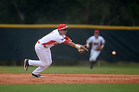 Illinois State Redbirds Dennis Colon (1) during a game against the Bucknell Bison on March 8, 2015 at North Charlotte Regional Park in Port Charlotte, Florida.  Bucknell defeated Illinois State 13-8.  (Mike Janes Photography)