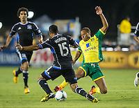 San Jose Earthquakes vs. Norwich City FC, July 20, 2013