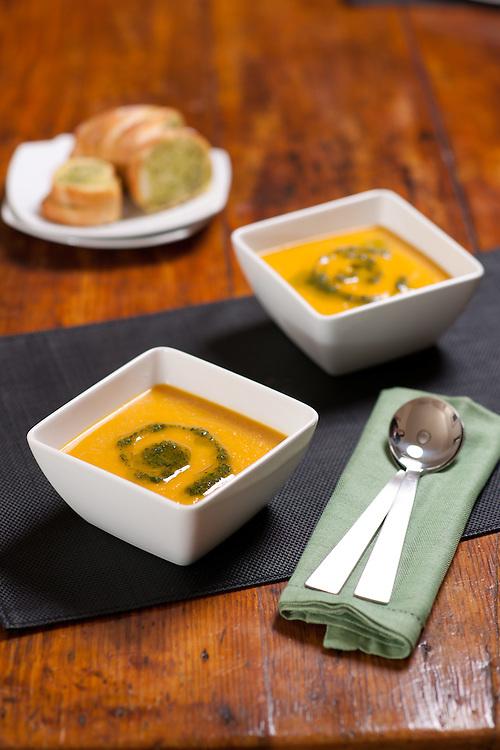 Winter Warmer Pumpkin Soup.