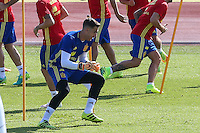 Spanish Adrian San Mateo during the second training of the concentration of Spanish football team at Ciudad del Futbol de Las Rozas before the qualifying for the Russia world cup in 2017 August 30, 2016. (ALTERPHOTOS/Rodrigo Jimenez) /NORTEPHOTO