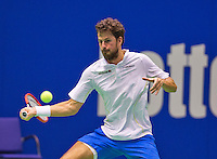 December 20, 2014, Rotterdam, Topsport Centrum, Lotto NK Tennis, Robin Haase (NED)<br /> Photo: Tennisimages/Henk Koster