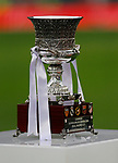 Trophie of Supercup   during the Spanish La Liga match round 20 between Real Madrid and Granada CF at Santiago Bernabeu Stadium in Madrid, Spain