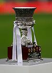 Trophie of Supercup   during the Spanish La Liga match round 20 between Real Madrid and Granada CF at Santiago Bernabeu Stadium in Madrid, Spain