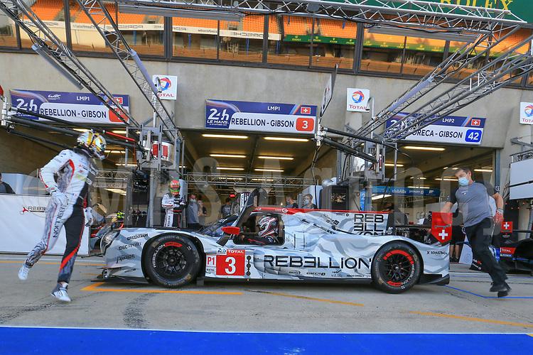 #3 REBELLION RACING (CHE) REBELLION R13 GIBSON LMP1 ROMAIN DUMAS (FRA) NATHANAËL BERTHON (FRA)  LOUIS DELETRAZ (CHE)