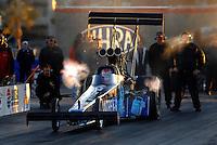 Jan 21, 2007; Las Vegas, NV, USA; NHRA Top Fuel Dragster driver David Grubnic during preseason testing at The Strip at Las Vegas Motor Speedway in Las Vegas, NV. Mandatory Credit: Mark J. Rebilas