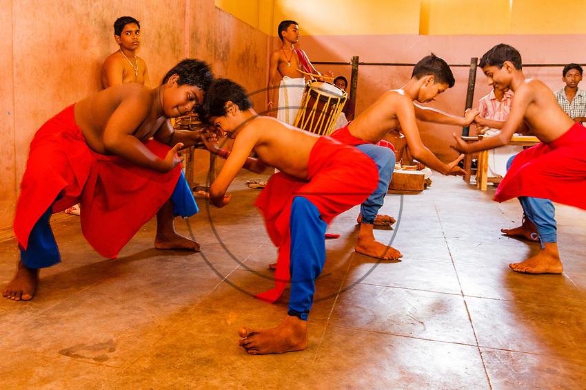 Asia, India,Kerala, Cheruthuruthy, Kalamandalam dance school founded by the poet Padmabhooshan Vallathol Narayana Menon, dance school