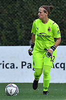 11th September 2021;  Mirko Fersini Stadium, Rome, Italy ; Serie A Womens championship football, Lazio versus Milan ; Maria Korenciova of Milan looks to put the ball back in play