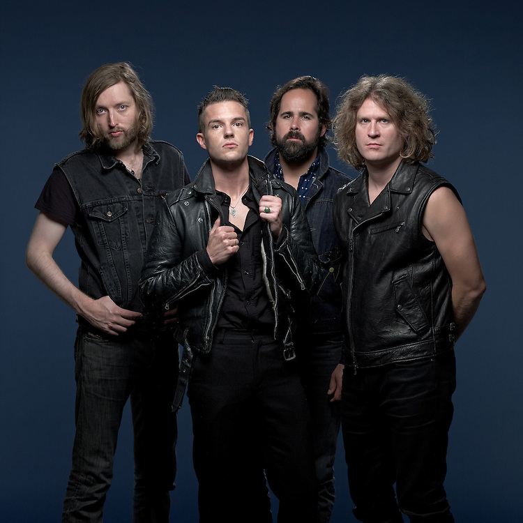 © 2012 John Angerson<br /> THE KILLERS'  from left: MARK STOERMER, RONNIE VANNUCCI JR, BRANDON FLOWERS AND DAVE KEUNING