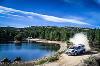 10th October 2020, Alghero, Sardinia, Italy; WRC Rally of Sardinia;   Greensmith