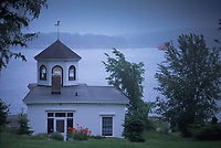 Rogers Boathouse, Castine, Maine, US
