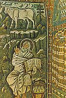 Ravenna: Temple of San Vitale--Evangelist Luke.