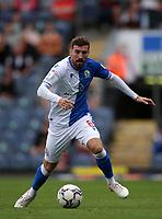 11th September 2021; Ewood Park, Blackburn, Lancashire England; EFL Championship football, Blackburn Rovers versus Luton Town; Joe Rothwell of Blackburn Rovers controls the ball