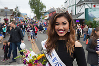 Abigail Dominguiano, Miss Washington's Outstanding Teen, Viking Fest 2016, Poulsbo, WA, USA.