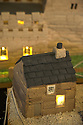 """08/12/16<br /> <br /> Thimble Hall. Smallest detached house in England (?).<br /> <br /> In this incredibly detailed replica of a small Peak District village, everything is edible, from the baubles on the Christmas trees to the flowers around the houses and what's more the """"village"""" is made from 35 individual rich fruit Christmas cakes which will be eaten on the 25th!<br /> <br /> The amazing model village is made up of 18 shops and houses, which are all realistic reproductions of the actual buildings found in Youlgreave, and is open to the public to view at All Saints' church, the main focal point of the miniature masterpiece.<br /> <br /> Retired florist Lynn Nolan, who decorated all the cakes, came up with the original idea as a way of raising money for the church, which needs a new roof, and the first of the cakes went in the oven back in April.<br /> <br /> MORE...https://fstoppressblog.wordpress.com/the-village-thats-really-a-christmas-cake/<br /> <br /> All Rights Reserved F Stop Press Ltd. (0)1773 550665   www.fstoppress.com"""