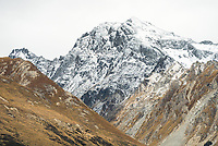 Mount Larkins 2300m of Richardson Mountains near Glenorchy, Central Otago, New Zealand, NZ