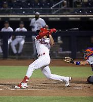 Logan O'Hoppe - Peoria Javelinas - 2021 Arizona Fall League (Bill Mitchell)