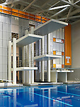 Allan Jones Aquatic Center at the University of Tennessee | Architect: HNTB
