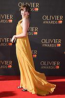 Ophelia Lovibond<br /> arriving for the Olivier Awards 2017 at the Royal Albert Hall, Kensington, London.<br /> <br /> <br /> ©Ash Knotek  D3245  09/04/2017