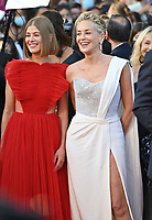 CANNES, FRANCE. July 17, 2021: Rosamund Pike & Sharon Stone at the Closing Gala & Awards Ceremony, and From Africa With Love Premiere at the 74th Festival de Cannes.<br /> Picture: Paul Smith / Featureflash
