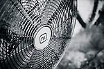 Old fan in back alley in Newtown, NSW, Australia