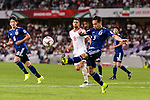 Nagatomo Yuto of Japan in action during the AFC Asian Cup UAE 2019 Semi Finals match between I.R. Iran (IRN) and Japan (JPN) at Hazza Bin Zayed Stadium  on 28 January 2019 in Al Alin, United Arab Emirates. Photo by Marcio Rodrigo Machado / Power Sport Images