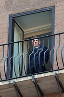 Daniel Craig<br /> Roma 18-02-2015 Campidoglio. In occasione del'inizio delle riprese del nuovo 007 a Roma, visita dei due attori al Campidoglio.<br /> Due to the new dil of James Bond, 007, that will be set in Rome, actors Daniel Craig and Monica Bellucci visit the Campidoglio<br /> Photo Samantha Zucchi Insidefoto