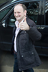 © Joel Goodman - 07973 332324 . 05/03/2017 . London , UK . UKIP's MP , DOUGLAS CARSWELL , leaves ITV studios and gives a thumbs up , on South Bank after appearing on the Peston on Sunday show . Photo credit : Joel Goodman