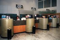 Cassa di Risparmio di Bologna.Bancari negli uffici della banca. Bank employees in the offices of the bank...