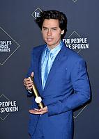 SANTA MONICA, USA. November 11, 2019: Cole Sprouse at the 2019 E! People's Choice Awards at Santa Monica Barker Hangar.<br /> Picture: Paul Smith/Featureflash