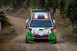 KREMER Armin / WINKLHOFER Pirmin ( SKODA Fabia R5) during the World Rally Car RACC Catalunya Costa Dourada 2016 / Rally Spain, in Catalunya, Spain. October 15, 2016. (ALTERPHOTOS/Rodrigo Jimenez)