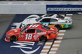 #18: Kyle Busch, Joe Gibbs Racing, Toyota Camry Maltesers #9: Tyler Reddick, JR Motorsports, Chevrolet Camaro Nationwide Children's