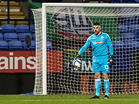 Bolton Wanderers' goalkeeper Matthew Gilks looks on <br /> <br /> Photographer Andrew Kearns/CameraSport<br /> <br /> The EFL Sky Bet League Two - Bolton Wanderers v Salford City - Friday 13th November 2020 - University of Bolton Stadium - Bolton<br /> <br /> World Copyright © 2020 CameraSport. All rights reserved. 43 Linden Ave. Countesthorpe. Leicester. England. LE8 5PG - Tel: +44 (0) 116 277 4147 - admin@camerasport.com - www.camerasport.com