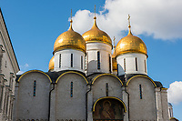 Russia, Moscow, Cathedral Square.
