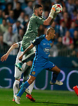 CF Fuenlabrada's Cata Diaz (r) and Real Madrid's Kiko Casilla during Spanish Kings Cup 1/16 Final 1st leg match. October 26,2017. (ALTERPHOTOS/Acero)