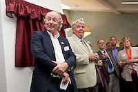 Mike Parsons, Barchester Healthcare with Councillor Jime Weale, Chair of Fernwood Parish Council