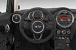 Car pictures of steering wheel view of a 2015 MINI Cooper S 4 Door 4 Door Hatchback Steering Wheel