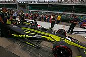 Verizon IndyCar Series<br /> Indianapolis 500 Qualifying<br /> Indianapolis Motor Speedway, Indianapolis, IN USA<br /> Saturday 20 May 2017<br /> Charlie Kimball, Chip Ganassi Racing Teams Honda<br /> World Copyright: Phillip Abbott<br /> LAT Images<br /> ref: Digital Image abbott_IndyQ-0517_19436
