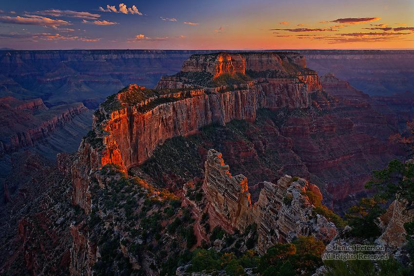 Cape Royal at Sunset, Grand Canyon, Arizona