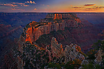 Cape Royal at Sunset, Grand Canyon, Arizona