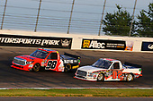NASCAR Camping World Truck Series<br /> Drivin' For Linemen 200<br /> Gateway Motorsports Park, Madison, IL USA<br /> Saturday 17 June 2017<br /> Grant Enfinger, Ride TV Toyota Tundra and Austin Hill, Ford F150<br /> World Copyright: Russell LaBounty<br /> LAT Images